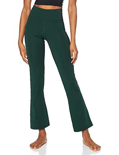 AURIQUE BAL1150 Pantalon de yoga, Vert Foncé, 42
