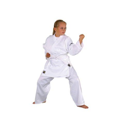 Kwon Kimono de karaté pour Enfant Blanc Blanc 140 cm