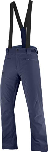 Salomon Stance Pantalon De Ski Pour Homme, Bleu (Night Sky), S/R