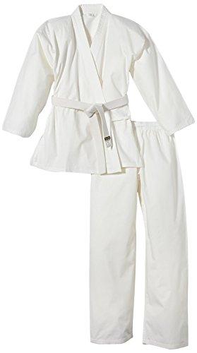 Kwon Tenue de karaté pour Enfant Karate Basic Blanc Blanc 150cm