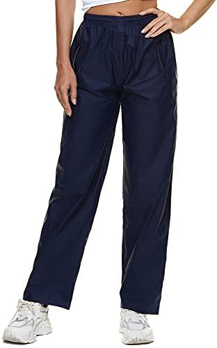 BenBoy Pantalon Imperméable Femme Respirant Séchage Rapide Coupe-Vent Résistant Pantalon de...