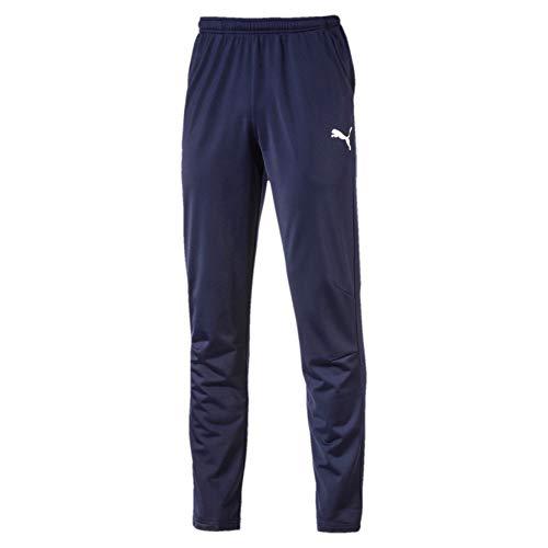 PUMA 655770 06 Pantalons Homme Bleu (Peacoat/Puma White), XXL