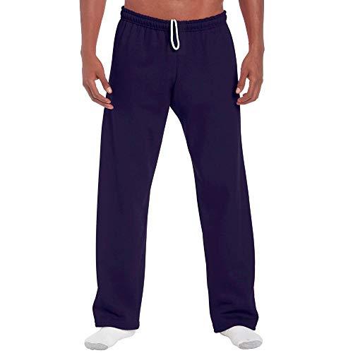 Gildan - Pantalons de survêtement avec jambe ouverte - Bleu - M