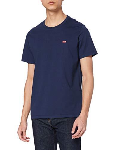 Levi's SS Original HM Tee T-Shirt Homme, Bleu (Cotton + Patch Dress Blues 0017), Medium