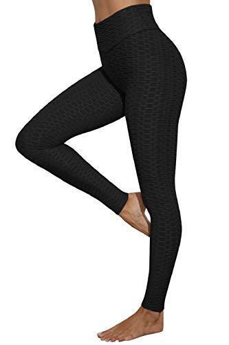 heekpek Leggings de Sport Anti-Cellulite Slim Fit Butt Lift Leggings de Sport Taille Haute...