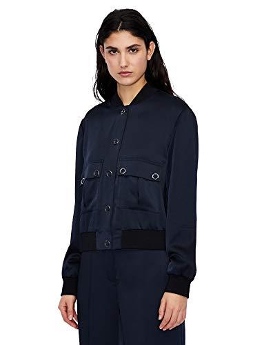 Armani Exchange Blouson Jacket Veste, Blueberry Jelly, XL Femme