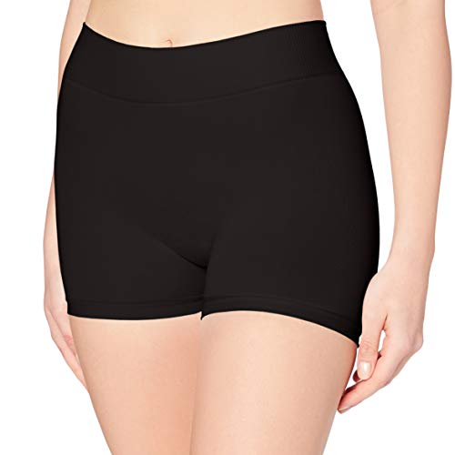 PIECES Pclondon Mini Shorts Noos Boxer, Noir (Black Black), 36 (Taille Fabricant: S/M) Femme