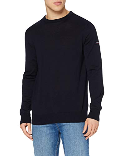 Armor Lux, Pull 'Damgan' Homme, Bleu, Medium (Taille Fabricant: M)