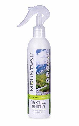 Mountval Bouclier Textile, Spray Imperméabilisant pour Vêtements de Pluie, Compatible avec Le...