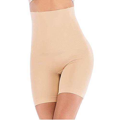 ANGOOL Culottes Sculptantes Femme Taille Haute Minceur Gainante Amincissante Ventre Plat Invisible Panty Abdominale Récupération Slip, Ecru, XL prix et achat