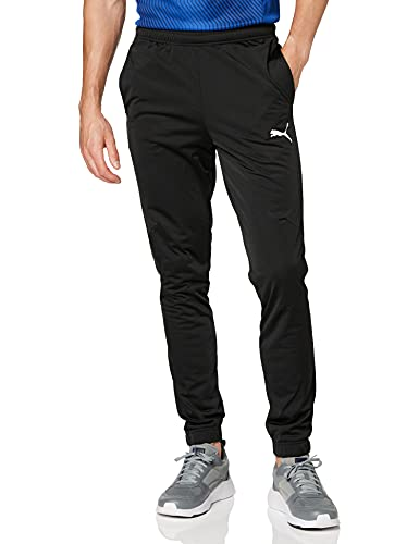 Puma Liga Sideline Poly Pant Core Pantalons Homme, Black White, L prix et achat