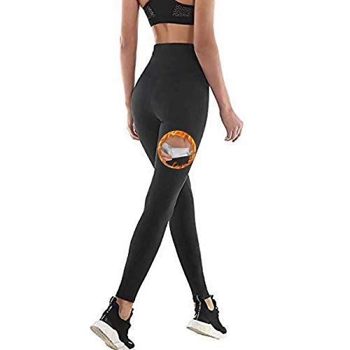 Legging anti Cellulite, Pantalon de Sudation, Legging Femmes Taille Haute avec Nanotechnologie...