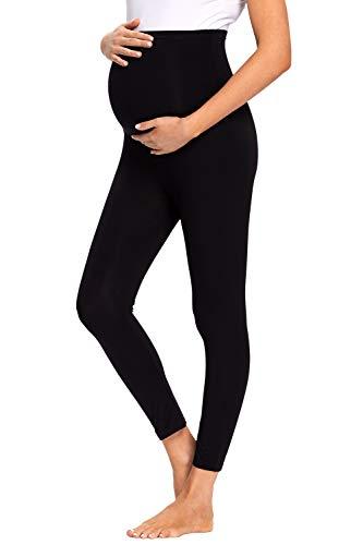 JMITHA Legging Grossesse Maternité, Pantalon de Grossesse Femme Leggings Longs de Grossesse en Coton, été Legging Vêtements Grossesse Sports et Loisirs