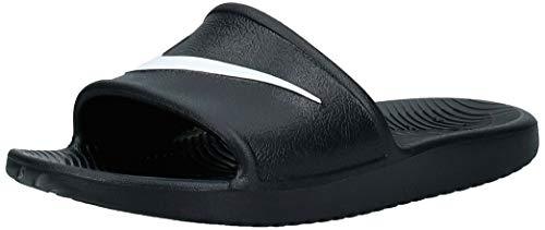 Nike Gar on Nike Kawa Shower(Gs/Ps) Chaussures de Plage Piscine, Noir Black White 001, 37.5 EU prix et achat