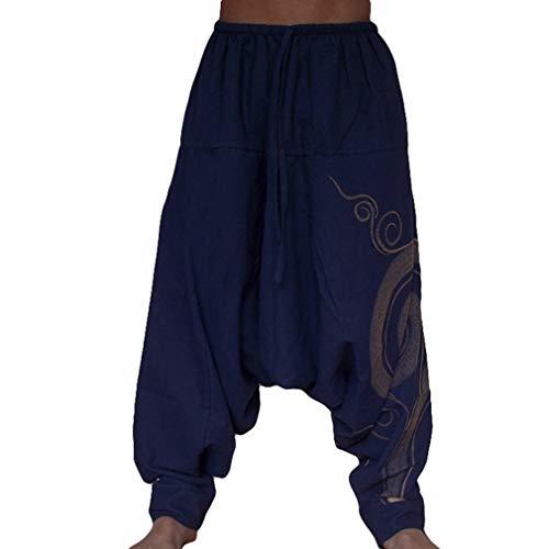 WEIMEITE Pantalons De Survêtement pour Hommes Sarouel à La Mode Pantalons De Jogging...