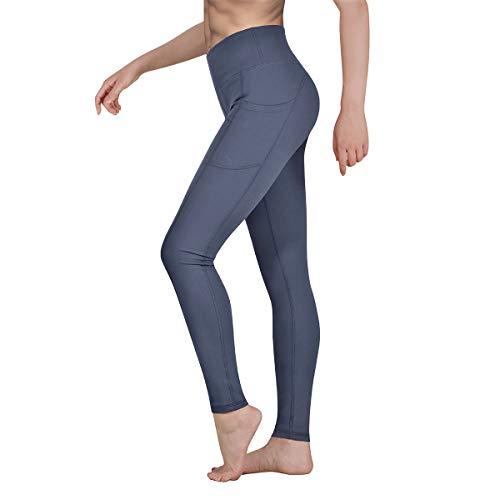 Occffy Legging de Sport Femme Pantalon de Yoga avec Poches Yoga Fitness Gym Jogging Taille...