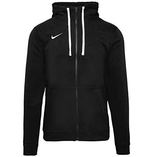 Nike - FZ Fleece TM Club19 - Veste à capuche - Homme - Noir (Black/White/010) - Taille: M