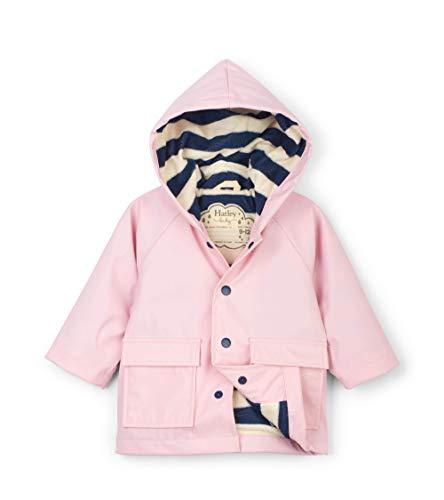 Hatley Mini Printed Raincoats Manteau Imperméable, Rose (Pink 650), 9-12 Mois (Taille Fabricant: 9M-12M) Bébé Fille