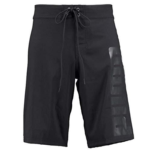 PUMA Men's Long Swimming Trunks Long Board Swim Shorts, Farben:Black, Größe Bekleidung:XL