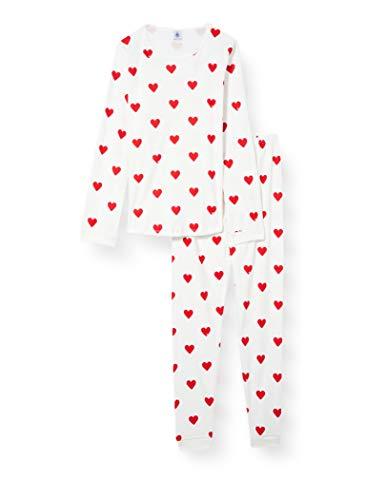 Petit Bateau A00J701 Pajama Set, Marshmallow/Terkuit, 18 Ans Womens prix et achat