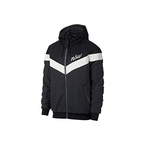 Nike Vestes de survêtement M NSW WR Hoodie TCH Sherpa - XL