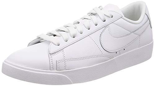 Nike W Blazer Low Le, Chaussures de Fitness Femme, Blanc (White/White/White 111), 39 EU