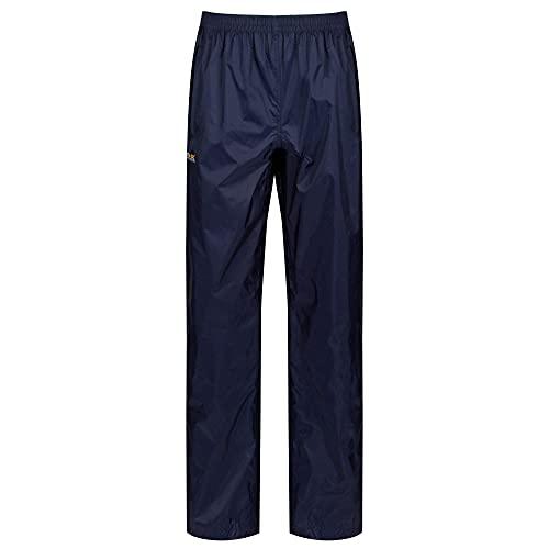 Regatta - Pack It - Pantalon de pluie - Femme - Bleu (Midnight) - Taille: S