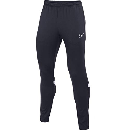 Nike Dri-FIT Academy Les Pantalons De Survêtement Garçon, Obsidian/Blanc/Blanc/Blanc, XS