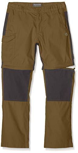 Craghoppers - Kiwi - Pantalon Convertible pour Enfant - Vert (Vert kaki) - FR: 11-12 ans prix et achat