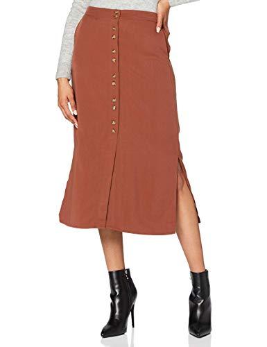 Vero Moda Vmhafia 7/8 Skirt WVN Jupe, Sable, L Femme prix et achat