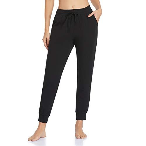 Vimbloom Pantalon de Jogging Femme Coton Longue Pantalon de Sport avec Poches Pantalon de...