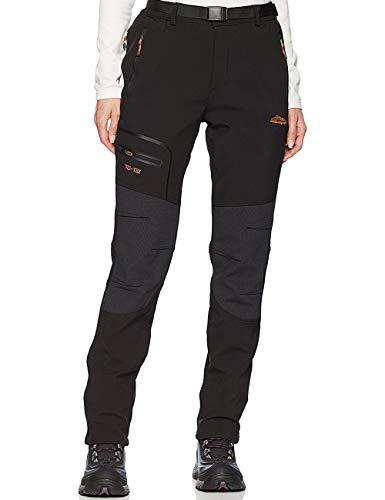 BenBoy Femme Pantalon Ski Imperméable Pantalon Randonnée Softshell Thermique Étanche...