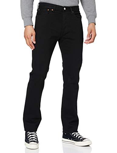 Levi Strauss & Co 501 Original Fit, Jeans Homme, Noir (Black 80701), W34/L32