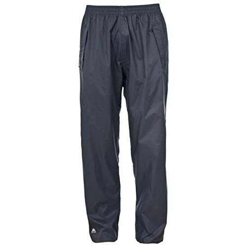 Trespass Qikpac Pant Pantalons imperméables Homme, Gris Silex, XS