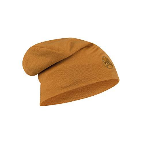 Buff Solid Bonnet Laine mérinos Heavy Orange FR : Taille Unique (Taille Fabricant : Taille One sizeque)