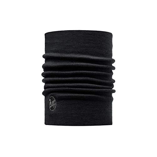 Buff Solid Bonnet Laine mérinos Heavyweight Mixte Adulte, Noir, FR Unique Fabricant : Taille...