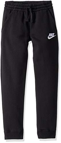 Nike B NSW Club FLC Jogger Pant Pantalon de Sport Garçon Black/Black/(White) FR: L (Taille Fabricant: L) prix et achat