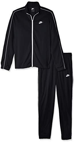 Nike M NSW CE TRK Suit PK Basic Survêtement Homme, Black/White/(White), FR (Taille Fabricant : XL) prix et achat