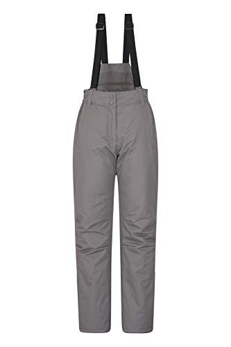 Mountain Warehouse Pantalon de Ski Femmes Moon - Déperlant, Taille réglable, Bretelles...