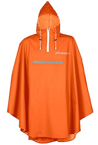 Vêtement de pluie à capuche pour cycliste de qualité supérieure avec fenêtre de vue,...