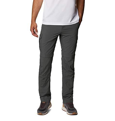 Columbia Silver Ridge II, Pantalon de Randonnée Convertible, Homme, Gris, 32 Grande taille