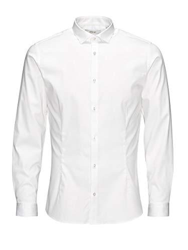 Jack & Jones 12097662 - Chemise - Homme - Blanc - Medium prix et achat