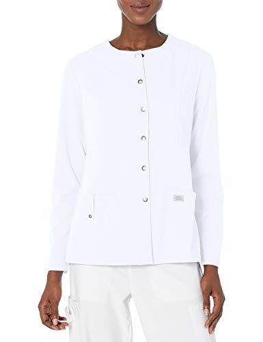 Veste d'¡§?chauffement Avant ¡§¡è col Ras du Cou en Xtreme Extensible, Blanc, XXX-Large