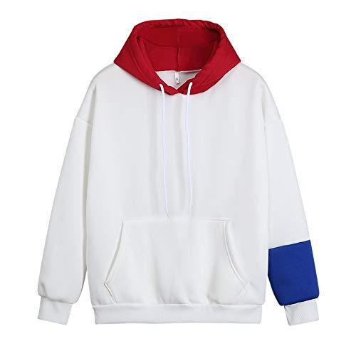 ELECTRI Femmes Sweatshirt Imprimé à Manche Longue,Dames Femme Sweat À Capuche Impression...
