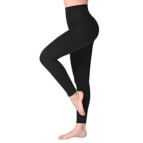 SINOPHANT Legging Femmes Pantalon de Sport, Jegging Taille Haute Femme Yoga Opaque Doux Grande...