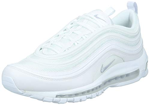 Nike Air Max 97, Chaussures de Fitness Homme, Multicolore (White/Wolf Grey/Black 101), 44 EU