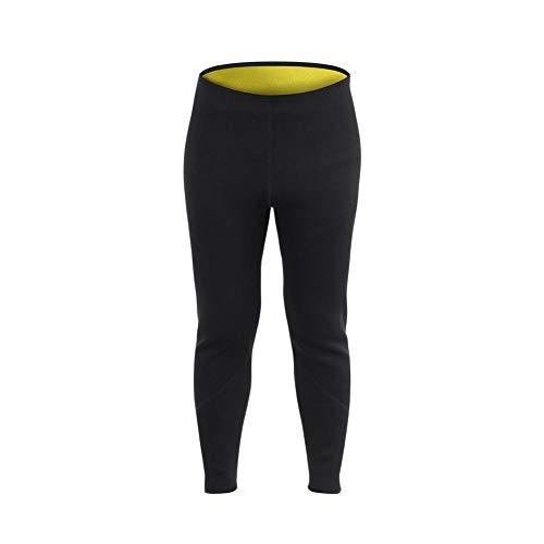 Alomejor Pantalon Legging Sauna Hommes Femmes Forme de Corps en Sueur Chaude en Néoprène pour...