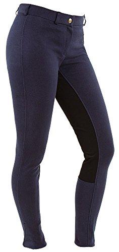 Kerbl economic pantalon d'équitation pour femme 34 Bleu - Bleu