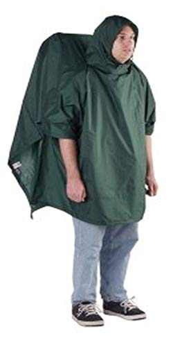 Outdoor Products Poncho de randonnée, Homme, 574OP-015, vert forêt, 53in by 94'
