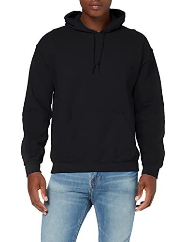 GILDAN 18500 Sweatshirt à Capuche, Black, L Homme